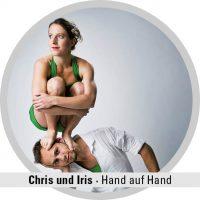 Chris und Iris Hand auf Hand